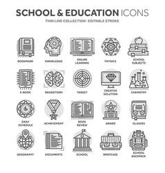 School education university study learning vector