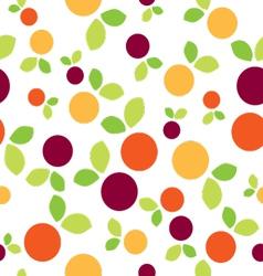 Seamless Pattern Mirabelle Fruits vector