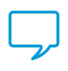 speech bubble color message icon vector image