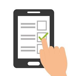 Survey design vector