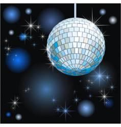 disco-ball vector image
