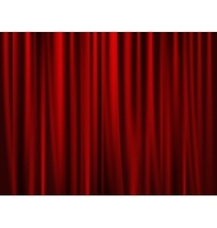 Theatrical background drape vector