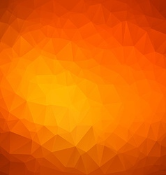 Abstract orange Geometric Background for Design vector