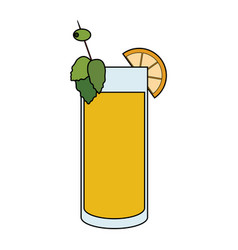cocktail icon image vector image