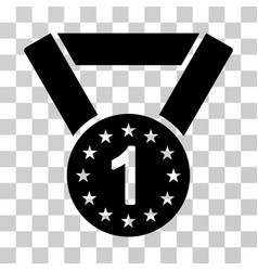 First medal icon vector