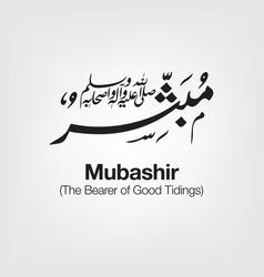Mubashir vector