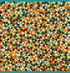 seamless pattern colorful mosaic backdrop vector image