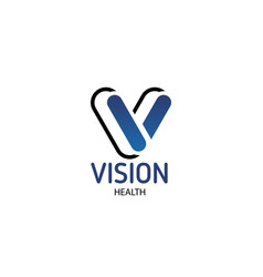 sign vision health vector image