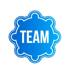 Team Seal Logo vector image