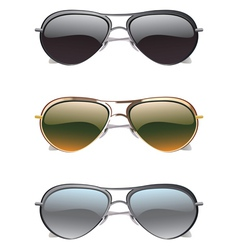 Sunglasses Icons2 vector image vector image