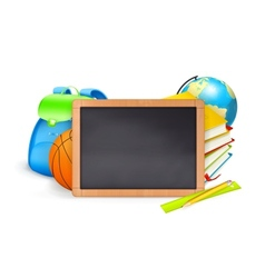Back to School baner vector image vector image