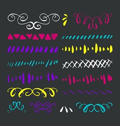 Ink Borers vector image