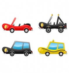 Cartoon cars vector