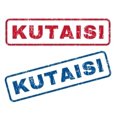 Kutaisi Rubber Stamps vector image vector image