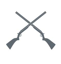 shotgun icon vector image vector image