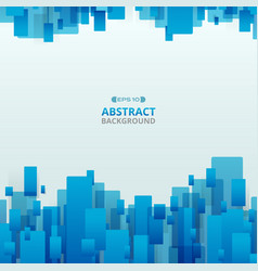 abstract of gradient blue trendy technology vector image