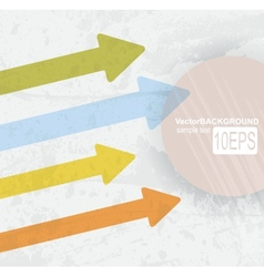 arrow career education vector image
