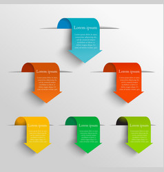 Arrow design concept vector image
