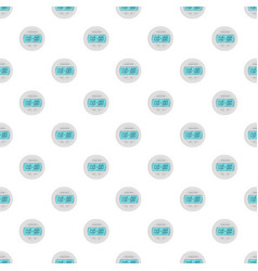 digital timer pattern seamless vector image