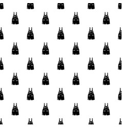 jumpsuit pattern seamless vector image