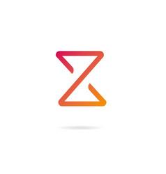 Letter z logo design template elements vector