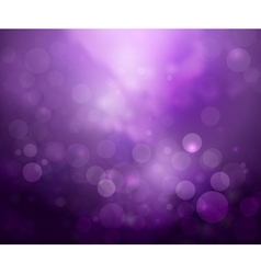 Purple lights background vector