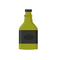 Retro whiskey bar drink bottle vector image