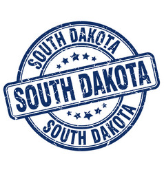 South dakota stamp vector