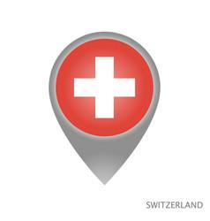 switzerland point vector image