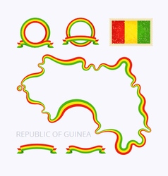 Colors of Guinea vector image vector image