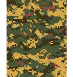 variant camo tileable vector image vector image