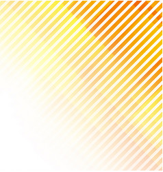 abstract lines on white and orange background vector image