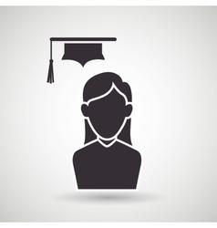Academic student design vector