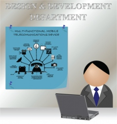 Design development vector