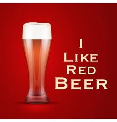 I love beer vector