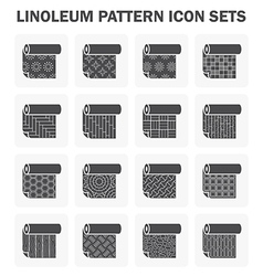 Linoleum icon vector