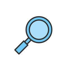 Magnifying glass magnifier loupe search vector