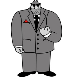 Mobster vector image