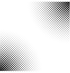 monochrome abstract halftone dot pattern vector image vector image