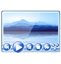 Multimedia player vector