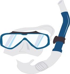 Snorkel Mask vector