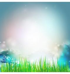 Summer background design for print or web vector image