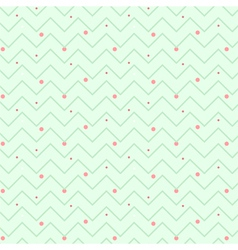 zigzag christmas pattern vector image
