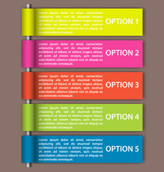 modern business steps to success charts and graphs vector image
