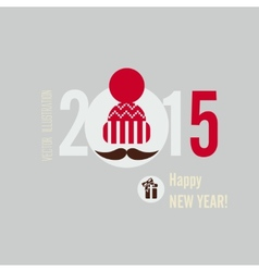 Flat Design Concepts For Happy New Year vector image vector image