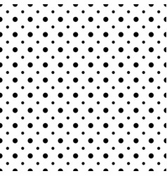 Big and small dots seamless pattern vector