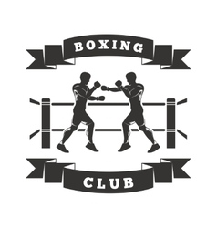 Boxing Club Logo vector image