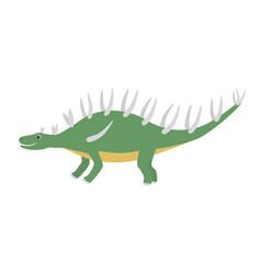 Brontosaurus icon cartoon vector