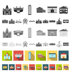 building repair flat icons in set collection for vector image