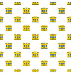 cheese shop pattern seamless vector image